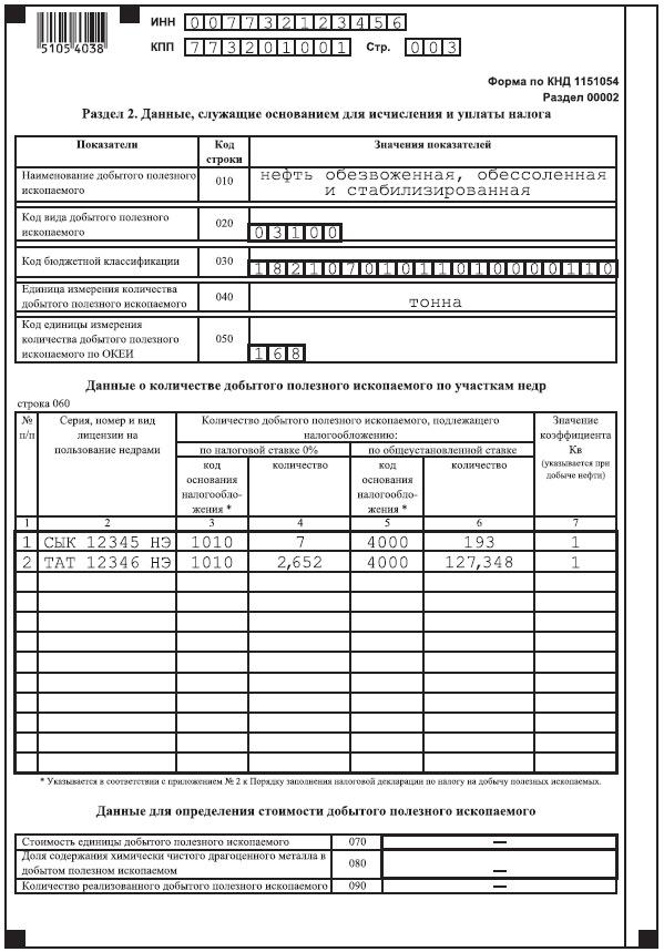 налоговая декларация по ндпи в 2016 году образец заполнения - фото 3
