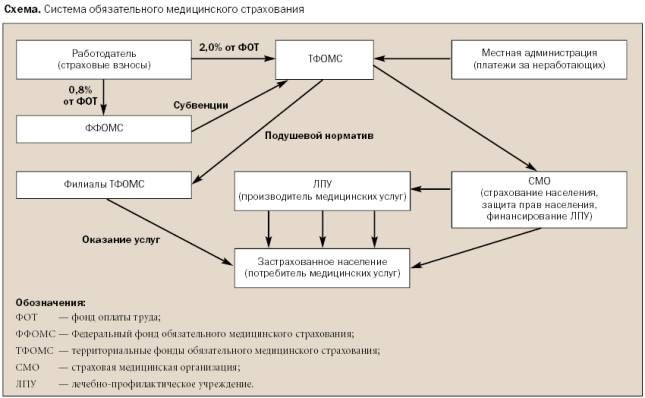 Финансировании здравоохранения в субъектах РФ.  6. роль системы ОМС в государственном.