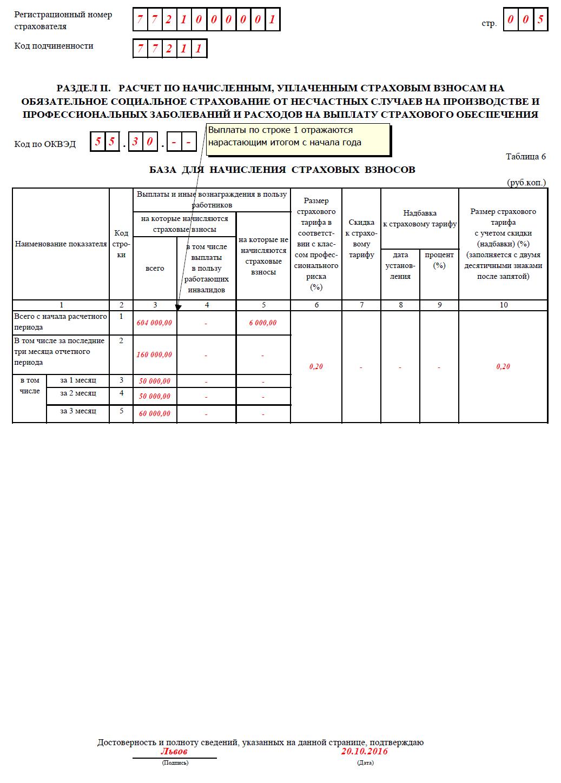 бланк платежного поручения в фсс