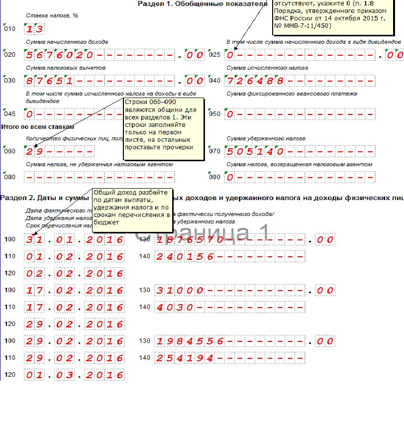 Как самому заполнить форму 3 ндфл