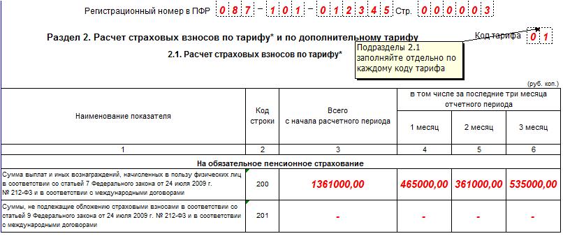 Форма РСВ-1 ПФР за 2 квартал 2016 года: скачать бесплатно бланк
