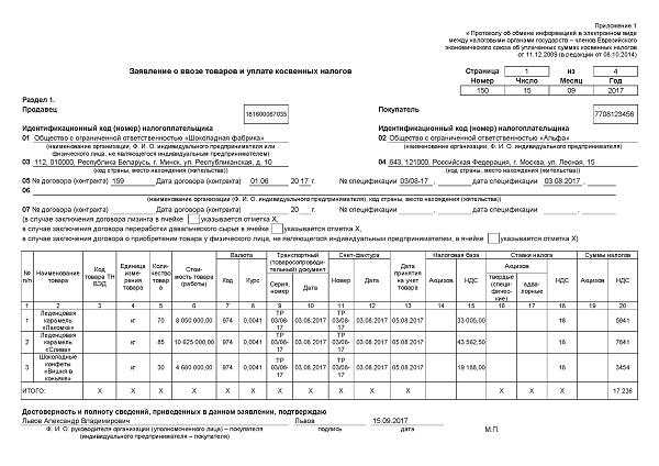 НДС экспорт 2017: изменения