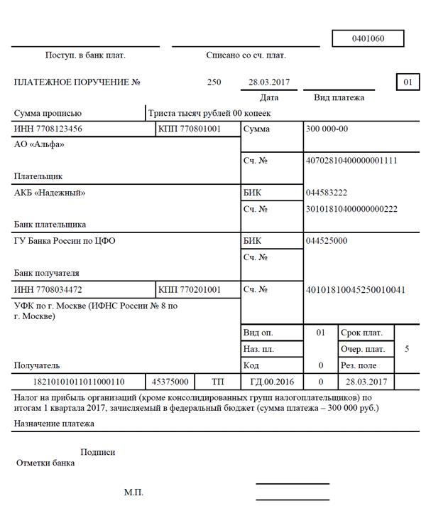 Налог на прибыль 4 квартал 2017 скачать счета-фактуры в wordpad