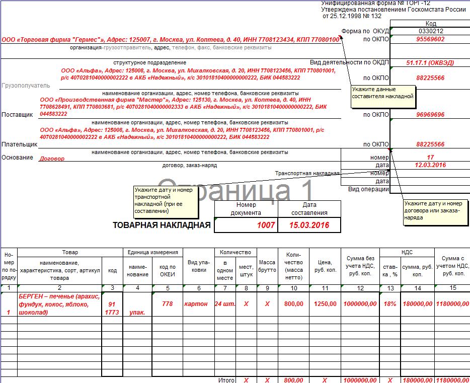 Якщо сторони домовилися в договорі, що право власності на товар переходить в момент передачі товару перевізнику, то списати товар в обліку продавець може на підставі ТОРГ-12 на дату відвантаження