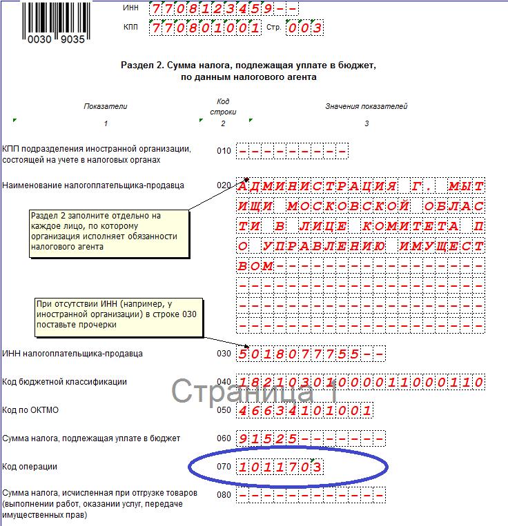 Коды операций по НДС в 2017 году: с подробной расшифровкой
