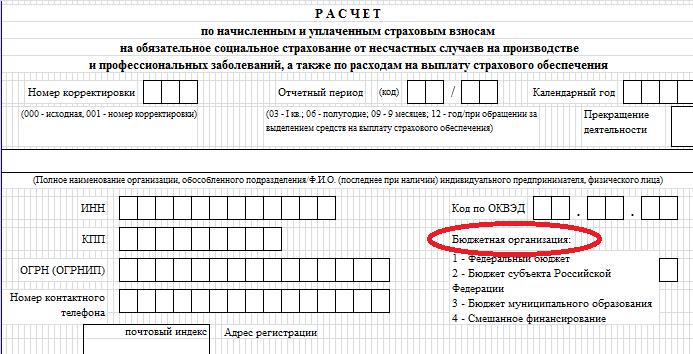 БЛАНК ФОРМЫ 4 ФСС ЗА 1КВАРТАЛ 2018Г СКАЧАТЬ БЕСПЛАТНО