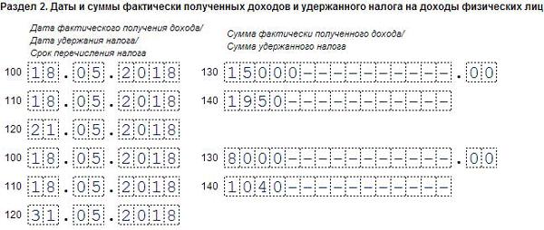 Как в 6 ндфл отразить отпускные документы для кредита в москве Мосфильмовский 2-й переулок