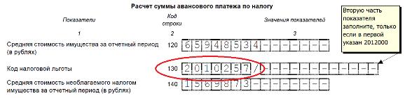 Изображение - Особенности применение кода 2010257 при оплате налога на имущество kod_lgoty_po_imushhestvu_2_preview