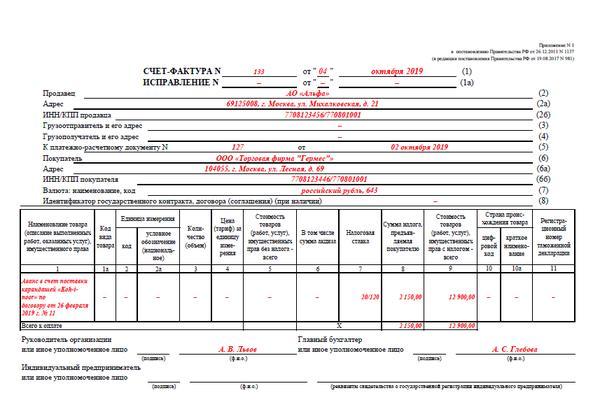 Счет-фактура на аванс в книге покупок или продаж